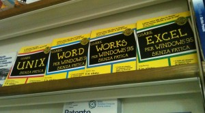 Manuali WORD, WORKS, EXCEL per Windows 95